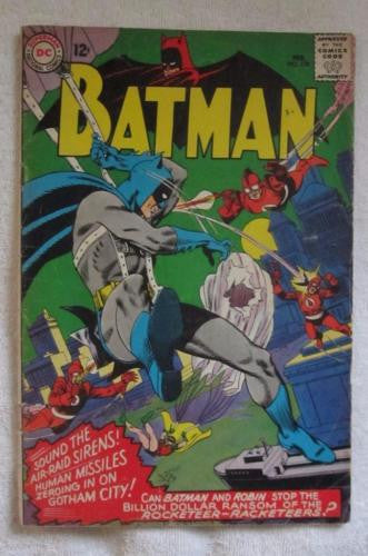 Batman #178 (Feb 1966, DC) Gil Kane pencils VG 4.0