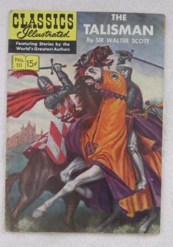 Classics Illustrated #111 [O] - The Talisman (Sep 1953) VG 4.0