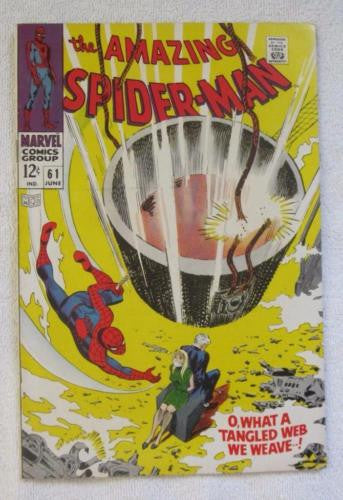 The Amazing Spider-Man #61 (Jun 1968,Marvel)1st Gwen Stacy cvr High Grade VF 8.0