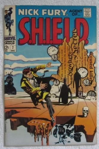Nick Fury, Agent of SHIELD #7 (Dec 1968, Marvel) Steranko High Grade VF/NM 9.0