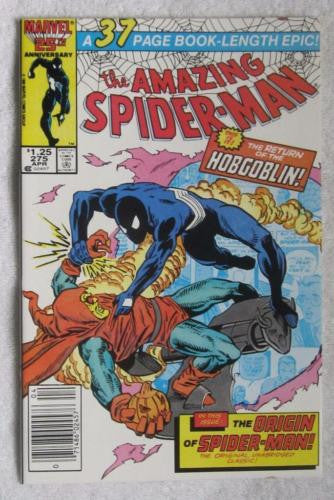 The Amazing Spider-Man #275 (Apr 1986, Marvel) Hobgoblin High Grade NM 9.2