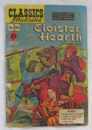 Classics Illustrated #66 [O] - The Cloister and the Hearth (Dec 1949) VG 4.0