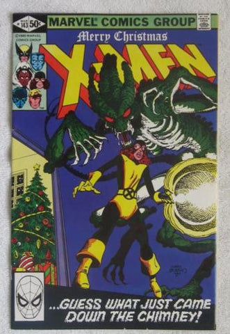 The Uncanny X-Men #143 (Mar 1981, Marvel) John Byrne art  VF- 7.5