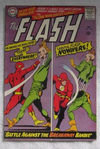 The Flash #158 (Feb 1966, DC) Infantino pencils VG/F 5.0