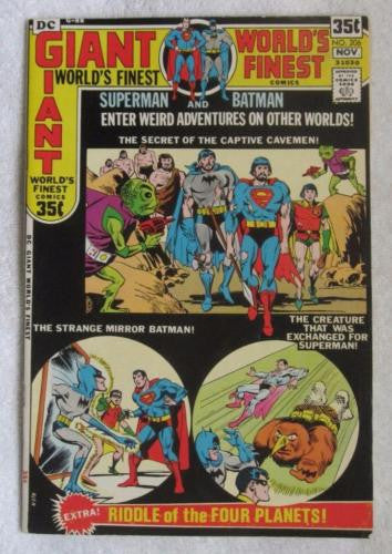 World's Finest Comics #206 (Oct 1971, DC) Giant 64 pgs F/VF 7.0