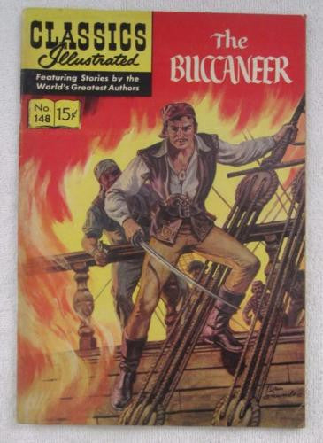 Classics Illustrated #148 [O] - The Buccaneer (Jan 1959, Gilberton) Fine 6.0