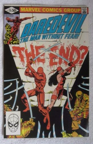Daredevil #175 (Oct 1981, Marvel) Elektra app Frank Miller High Grade VF/NM 9.0
