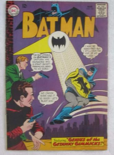 Batman #170 (Mar 1965, DC) Infantino pencils G/VG 3.0