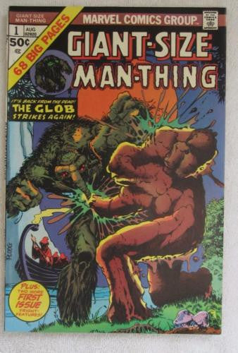 Giant-Size Man-Thing #1 (Aug 1974, Marvel) Ploog art High Grade VF/NM 9.0