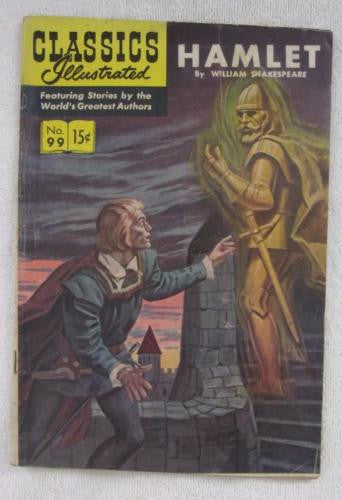 Classics Illustrated #99 [O] - Hamlet (Sep 1952, Gilberton) G/VG 3.0