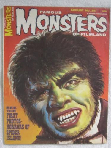 Famous Monsters of Filmland #34 Aug 1965 Warren Publications