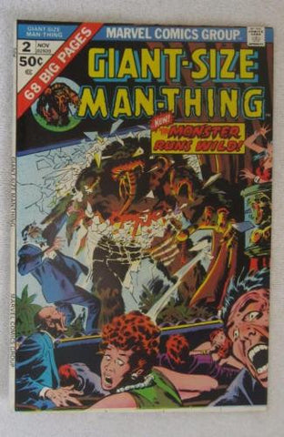 Giant-Size Man-Thing #2 (Nov 1974, Marvel) Buscema art High Grade VF+ 8.5