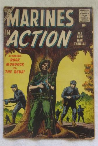 Marines in Action #9 (Nov 1956, Atlas/Marvel) Good 2.0