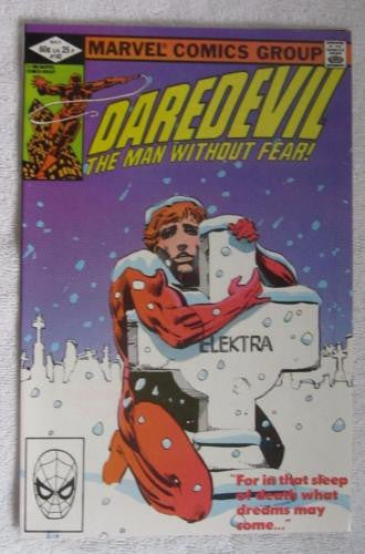 Daredevil #182 (May 1982, Marvel) Punisher app Frank Miller High Grade VF/NM 9.0