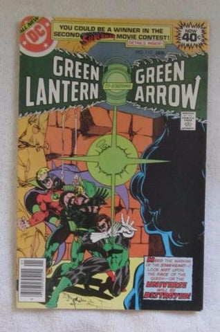 Green Lantern #112 (Jan 1979, DC) Golden Age origin retold High Grade VF/NM 9.0