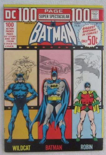 100-Page Super Spectacular DC-14 (Mar 1973, DC) Batman VF- 7.5