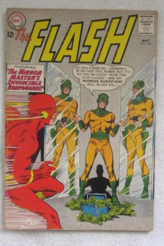 The Flash #136 (May 1963, DC) 1st Dexter Miles VG/F 5.0