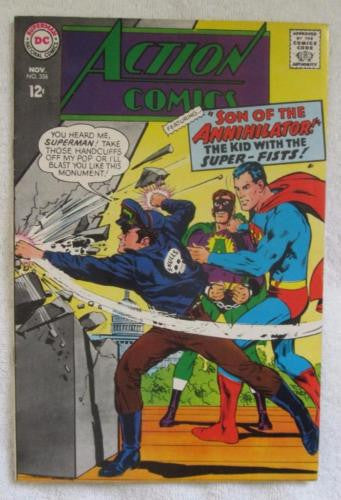 Action Comics #356 (Nov 1967, DC) Neal Adams cvr  VF- 7.5