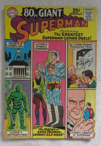 80 Page Giant Magazine #11 Superman (Jun 1965, DC) Curt Swan pencils VG 4.0