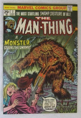Man-Thing #7 (Jul 1974, Marvel) Ploog art High Grade NM 9.2