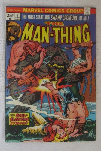 Man-Thing #6 (Jun 1974, Marvel) Ploog art High Grade VF/NM 9.0