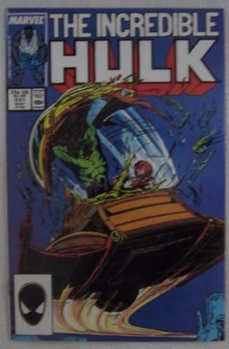 The Incredible Hulk #331 (May 1987, Marvel) Grey Hulk begins High Grade NM 9.2