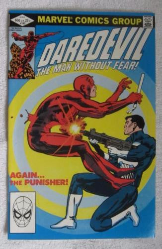 Daredevil #183 (Jun 1982, Marvel) Punisher app Frank Miller High Grade VF/NM 9.0