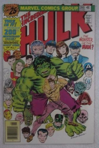 The Incredible Hulk #200 (Jun 1976, Marvel) Silver Surfer High Grade VF/NM 9.0