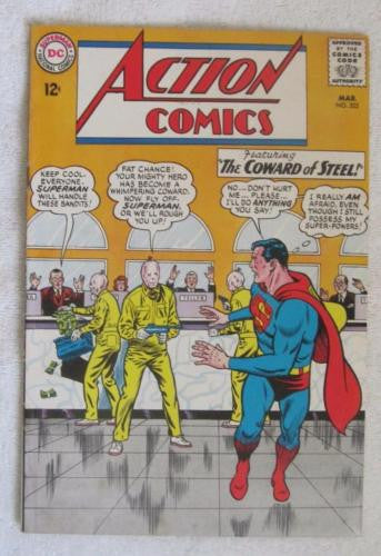 Action Comics #322 (Mar 1965, DC) Curt Swan pencils Fine 6.0