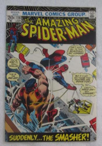 The Amazing Spider-Man #116 (Jan 1973, Marvel) High Grade VF/NM 9.0