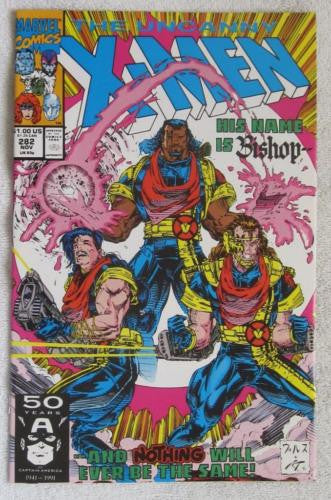 The Uncanny X-Men #282 (Nov 1991, Marvel) 1st brief app Bishop VF/NM 9.0