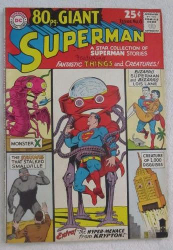 80 Page Giant #6 (Jan 1965, DC) Superman VF- 7.5