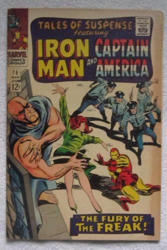 Tales of Suspense #75 (Mar 1966, Marvel) Key issue 1st app Sharon Carter FN 6.0