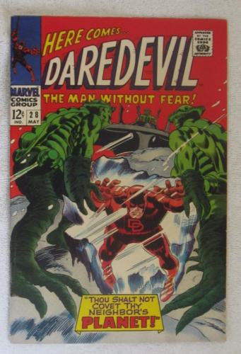 Daredevil #28 (May 1967, Marvel) Gene Colan pencils VF- 7.5