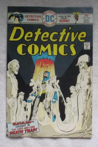 Detective Comics #450 (Aug 1975, DC) Giordano pencils High Grade VF+ 8.5