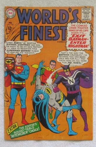 World's Finest Comics #155 (Feb 1966, DC) Curt Swan pencils VF- 7.5