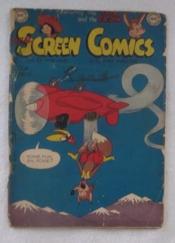 Real Screen Comics #23 (Apr-May 1949, DC) Fair/Good 1.5