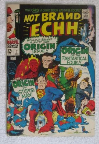 Not Brand Echh #7 (Apr 1968, Marvel) F/VF 7.0
