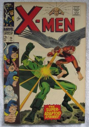 The X-Men #29 (Feb 1967, Marvel) High Grade VF/NM 9.0