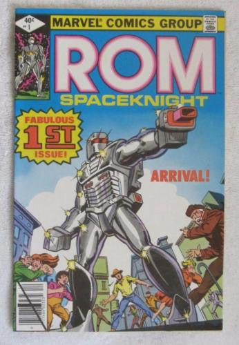 ROM #1 (Dec 1979, Marvel) High Grade VF+ 8.5