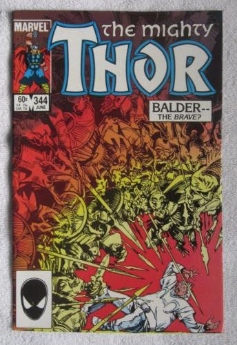 Thor #344 (Jun 1984, Marvel) 1st app Malekith High Grade NM 9.2