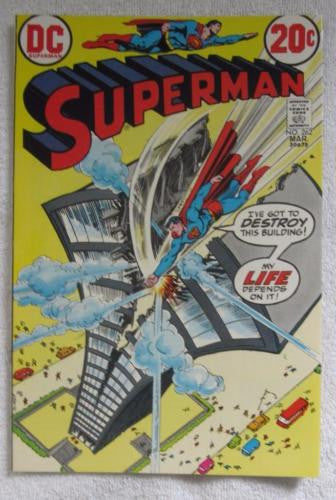 Superman #262 (Mar 1973, DC) Curt Swan pencils High Grade NM 9.2