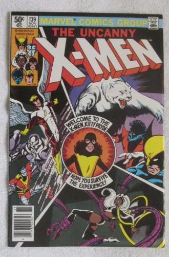 The X-Men #139 (Nov 1980,Marvel)Kitty Pride/New Costume Wolverine VF/NM 9.0