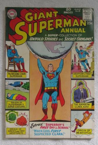 Superman Annual #8 (Winter 1963-1964, DC) Curt Swan pencils Fine 6.0