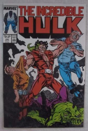 The Incredible Hulk #330 (Apr 1987, Marvel) 1st McFarlane High Grade NM 9.2