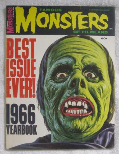 Famous Monsters of Filmland 1966 Yearbook Warren Publications