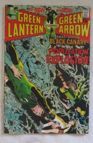 Green Lantern #81 (Dec 1970, DC) Neal Adams art VG/F 5.0