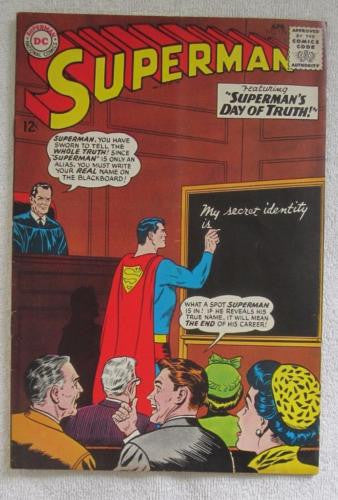 Superman #176 (Apr 1965, DC) Curt Swan pencils VG 4.0