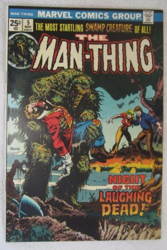Man-Thing #5 (May 1974, Marvel) Ploog art High Grade NM 9.2