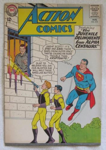 Action Comics #315 (Aug 1964, DC) Curt Swan pencils F/VF 7.0